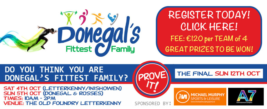 Donegal's Fittest Family 2014 at The Old Foundry